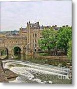 Bath On River Avon 8482 Metal Print