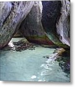 Bath Rocks Metal Print by    Michael Glenn