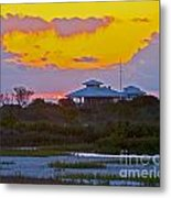 Bathouse Sunset Metal Print