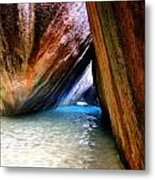 Baths In Virgin Gorda Metal Print