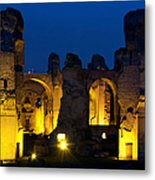 Baths Of Caracalla Metal Print