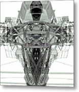 Batmachine Metal Print