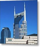Batman Building And Nashville Skyline Metal Print