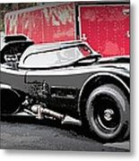 Batmobile Metal Print