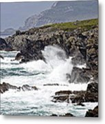 Battered Coast Metal Print by Tony Reddington