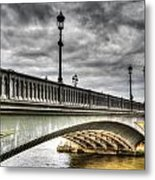 Battersea Bridge London Metal Print