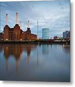 Battersea Power Plant. Metal Print