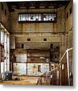 Battersea Power Station Interior Metal Print