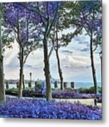 Battery Park In The Spring Metal Print