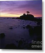 Battery Point Lighthouse At Sunset Metal Print