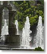 Battle Fountain Metal Print