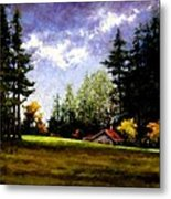 Battle Ground Park Metal Print