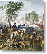 Battle Of Eutaw Springs Metal Print
