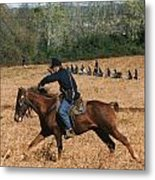 Battle Of Franklin - 4 Metal Print by Kae Cheatham