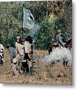 Battle Of Franklin - 3 Metal Print
