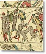 Battle Of Hastings The Battle Rages Metal Print