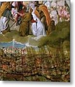 Battle Of Lepanto Metal Print