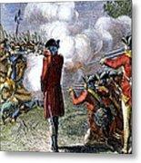 Battle Of Lexington Metal Print