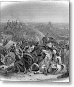 Battle Of Meeanee Sind Campaign - Metal Print