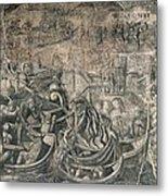 Battle Of M�hlberg Charles Vs Imperial Metal Print