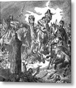 Battle Of The Camel, 656 Metal Print