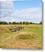 Battle Of Yorktown Battlefield Metal Print by John M Bailey