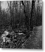 Battle Road Boardwalk Metal Print