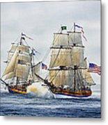 Battle Sail Metal Print