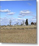 Battlefield At Gettysburg National Military Park Metal Print by Brendan Reals
