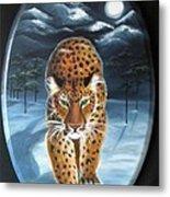 Batukhan Snow Leopard Metal Print