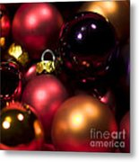 Bauble Abstract Metal Print