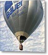 Bauer Ballon Metal Print