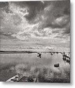 Bay Area Boats Metal Print by Jon Glaser