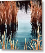 Bay At Sunset Metal Print