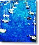 Bay Boats Metal Print