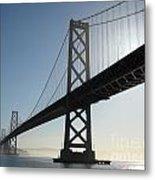 Bay Bridge Morning Metal Print