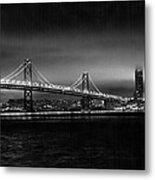 Bay Bridge Blackout Metal Print
