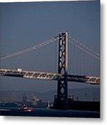 Bay Bridge West Span Metal Print