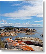 Bay Of Fires Panorama Metal Print