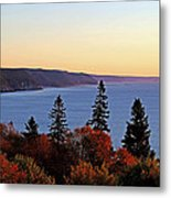 Bay Of Fundy Coastline - New Brunswick Canada Metal Print
