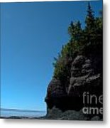 Bay Of Fundy Landmark Metal Print