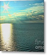 Bay Of Green Bay Wi Metal Print