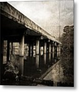 Bay View Bridge Metal Print