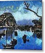 Bay View Morro Bay California Metal Print