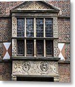 Bay Window - Castle Vischering Metal Print
