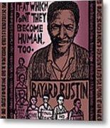 Bayard Rustin Metal Print