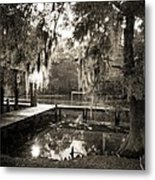 Bayou Evening Metal Print