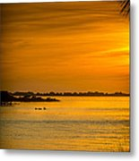 Bayport Dolphins Metal Print by Marvin Spates