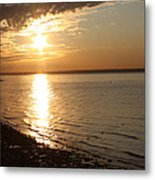 Bayville Sunset Metal Print by John Telfer
