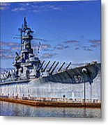 Bb-60 Uss Alabama Metal Print